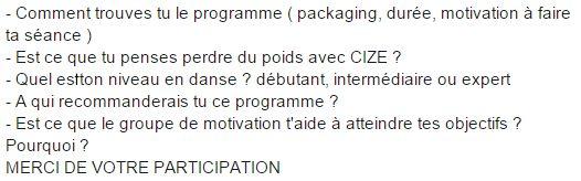 avis sur CIZE programme d'entraînement sur dvd de Shaun T