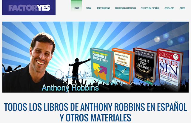 Anthony robbins libros en espa?ol pdf