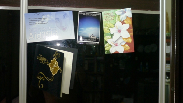 koleksi kad raya daripada blogger