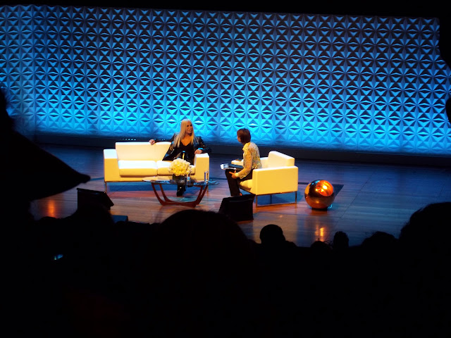 Donatella Versace - A Woman of Our Time - Talk at Vogue Festival events, high fashion, Versace, Vogue, blog report