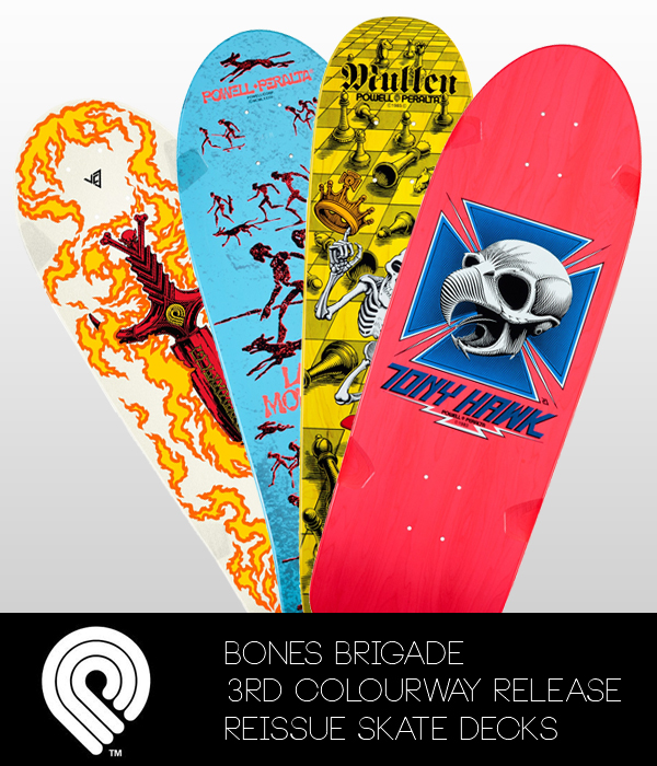 Bones Brigade Re-Issue Skate Decks (3rd release)