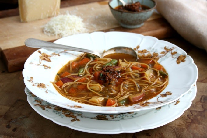 French Vegetable Soup (Soup au pistou)