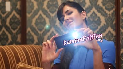 Katrina Kaif's Promotional Still, Behind the Scenes of Sony Xperia Z