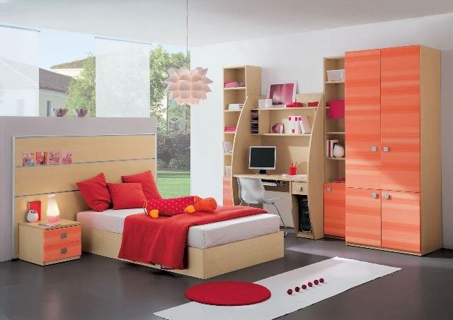 design kamar tidur anak perempuan