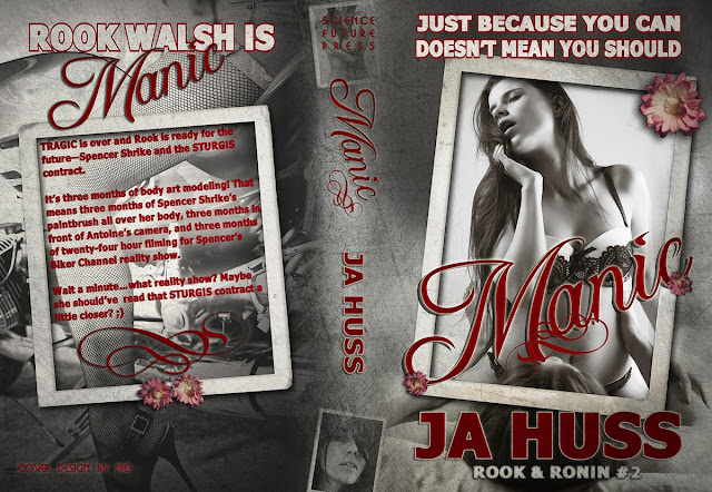 Cover Reveal: Manic by J.A. Huss