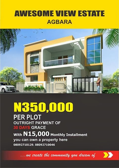 AWESOME VIEW ESTATE- AGBARA