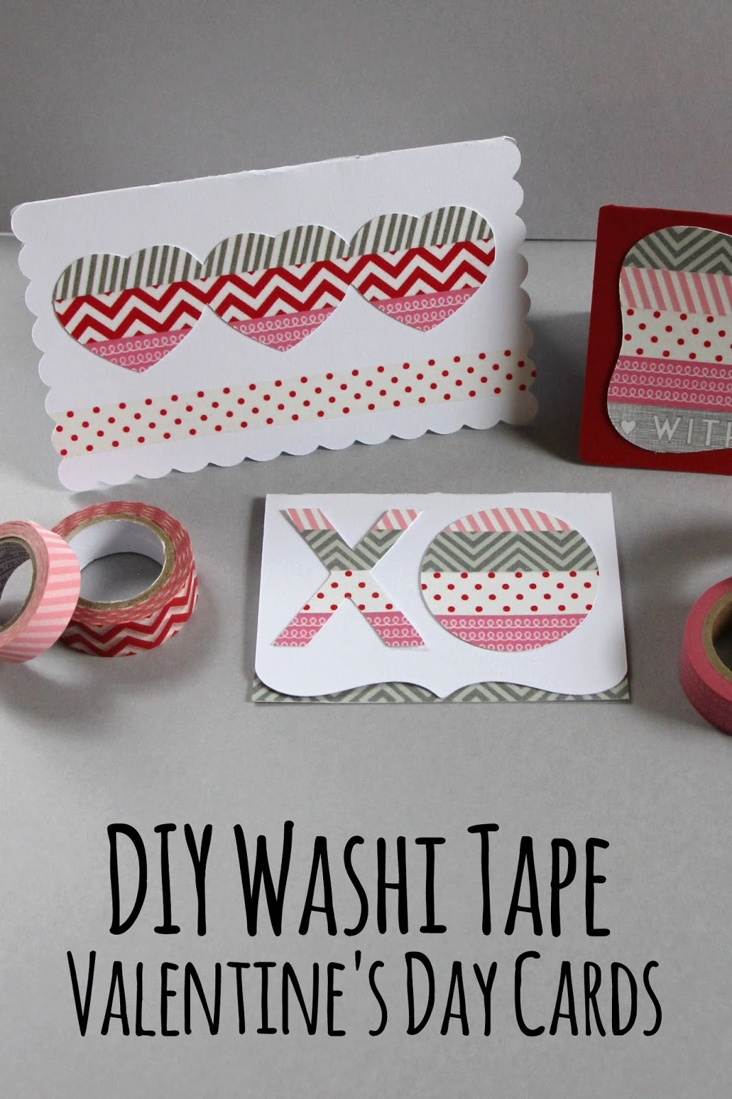 lovely little life diy washi tape valentine 39 s day cards. Black Bedroom Furniture Sets. Home Design Ideas