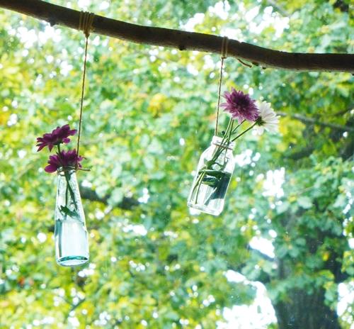 Herbst Blumen Ast Deko