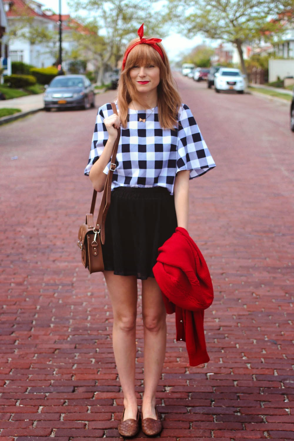 gingham cropped top, ny fashion blog, nyc fashion bloggers, long beach new york