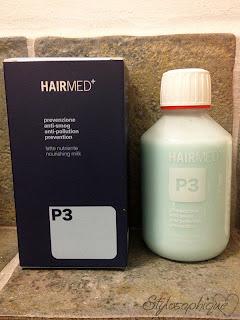Hairmed, anti smog, smog, capelli, prodotti per capelli, capelli secchi, review, recensione, beauty blog, P3