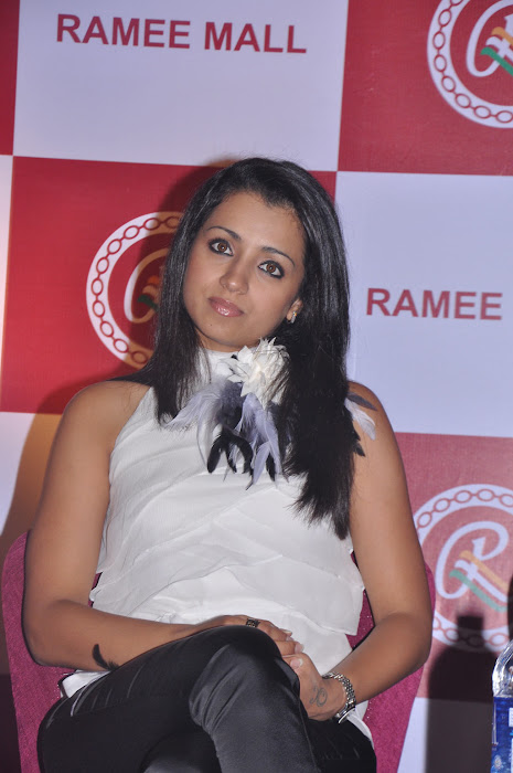 trisha new @ ramee mall launch cute stills