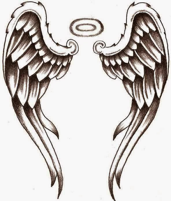tattoo angel wing