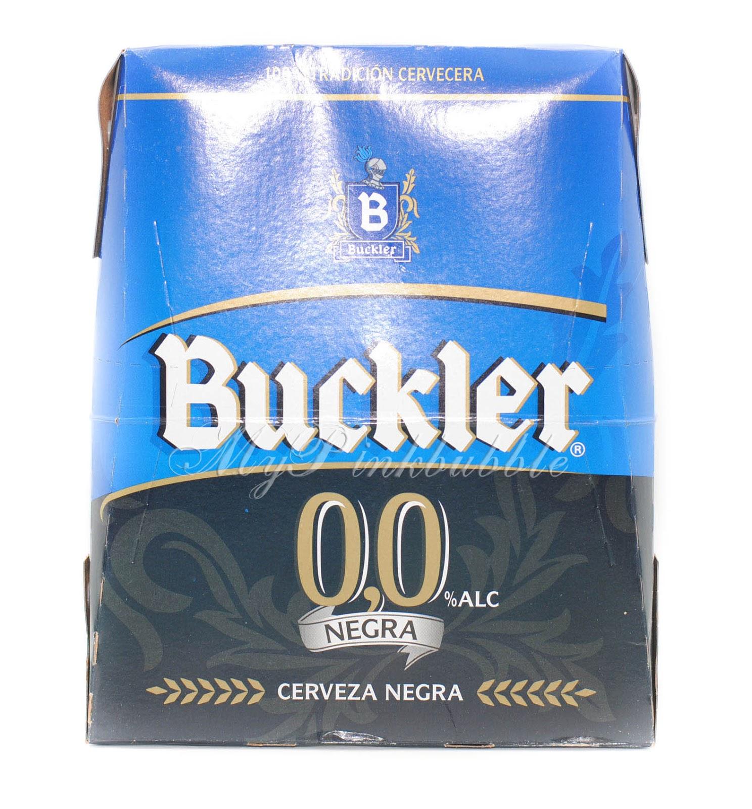 Buckler cerveza negra 00