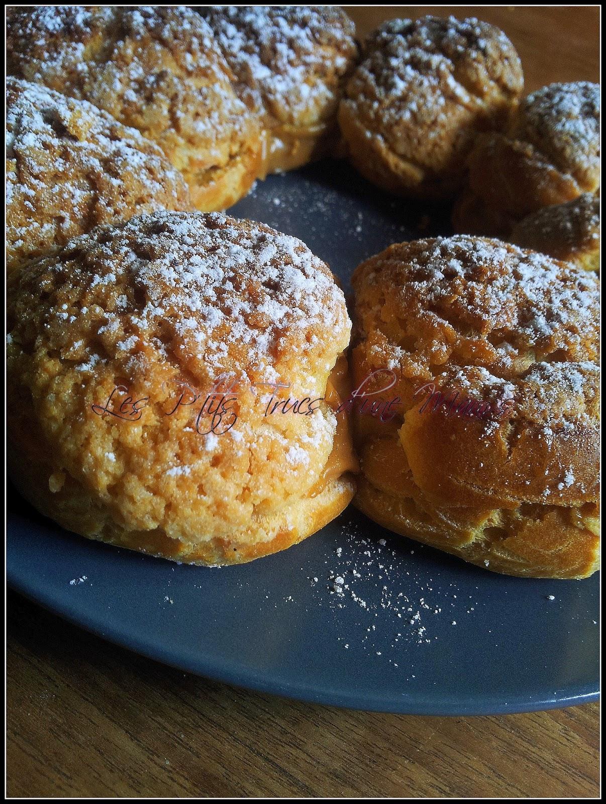 Un peu de paris brest blogs de cuisine - Pate a choux herve cuisine ...