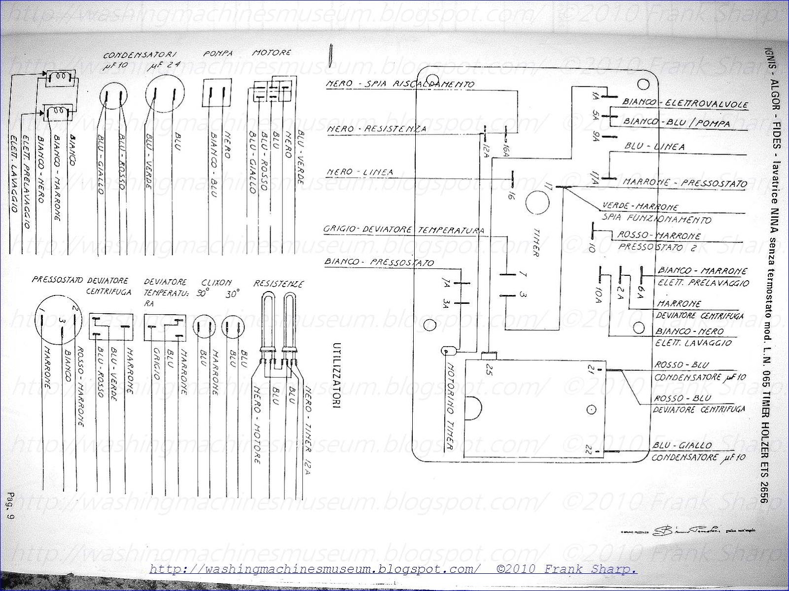washer rama museum   ignis mod  nina l n  065 timer holzer ets2656 schematic diagram