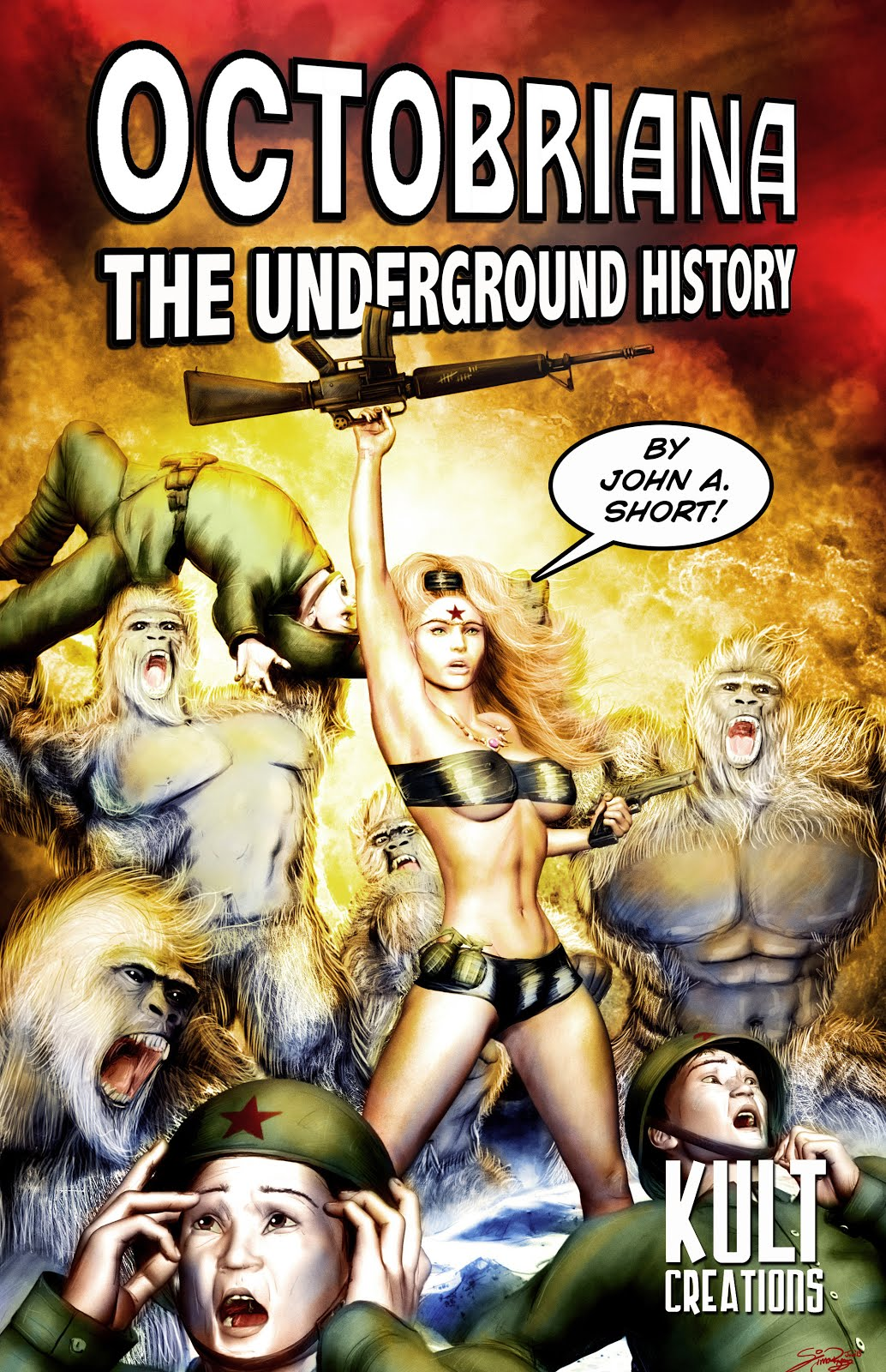Link to buy OCTOBRIANA: THE UNDERGROUND HISTORY - kindle