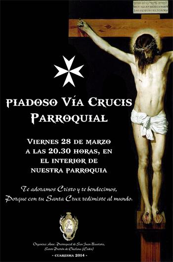 28 MARZO | VÍA CRUCIS PARROQUIAL