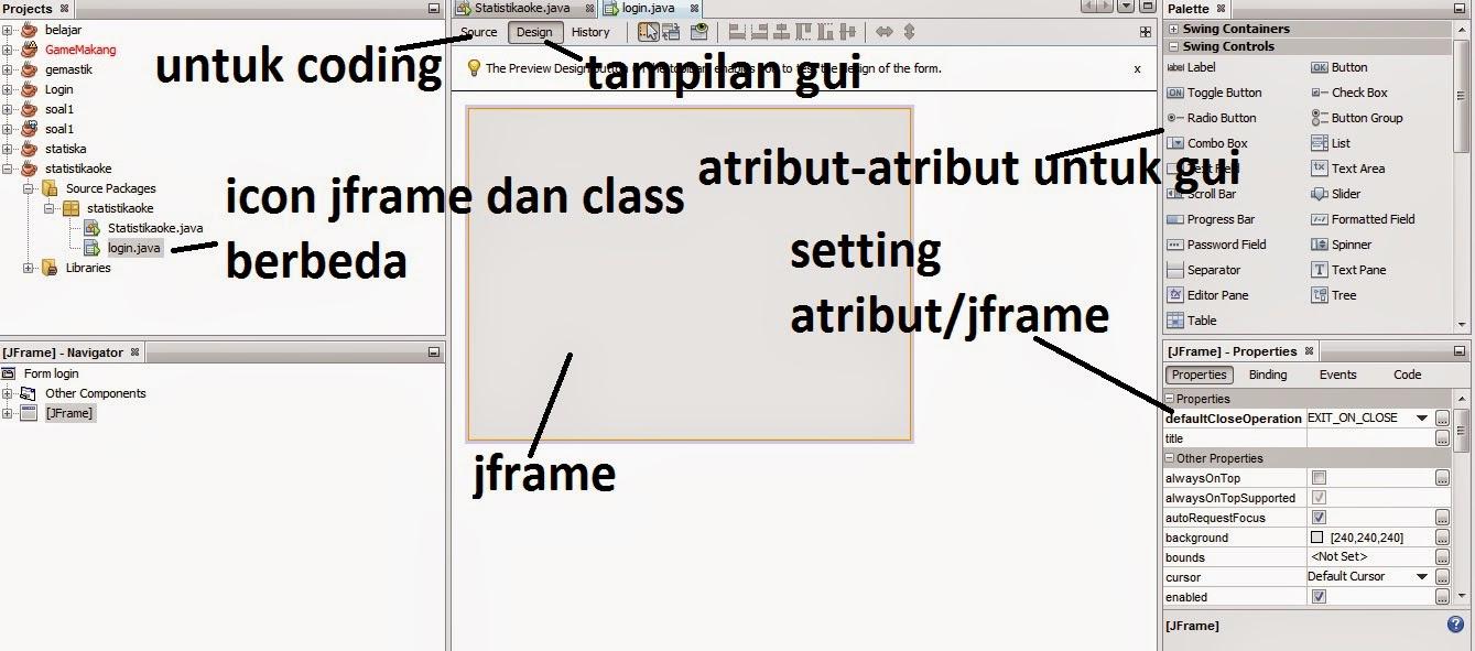 gui - Membuat Kegiatan Mean Dengan Java Dan Mysql