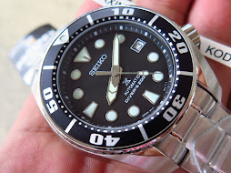 SEIKO DIVER NEW SUMO BLACK DIAL - SEIKO SBDC031 - AUTOMATIC 6R15 - BRAND NEW WATCH