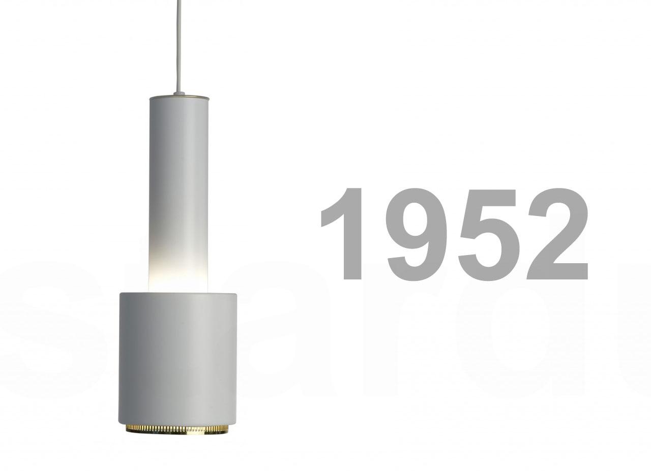 Mid Century Minimalist Original Light Modern Alvar Aalto A110