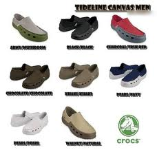 5f6c9e1a578e Crocs Tideline Canvas Men - Galaxy Online Shop