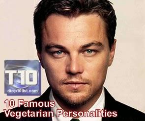 Top 10 Famous Vegetarian Personalities
