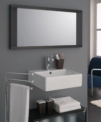 Ideas for bathroom mirrors 2017 grasscloth wallpaper - The bathroom mirrors contemporary ...