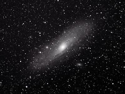 canon dslr andromeda galaxy