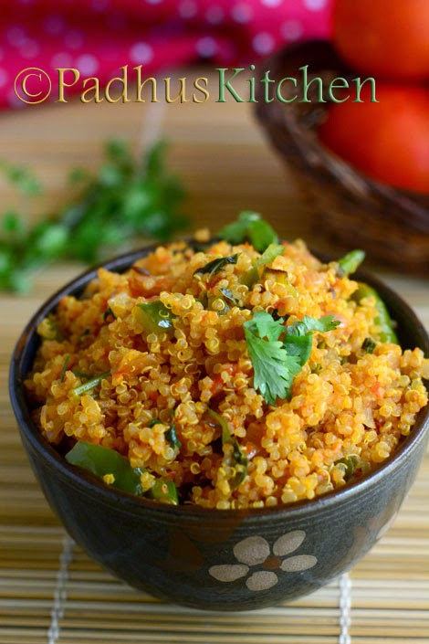 Quinoa Tomato Bath-Indian Quinoa Recipes