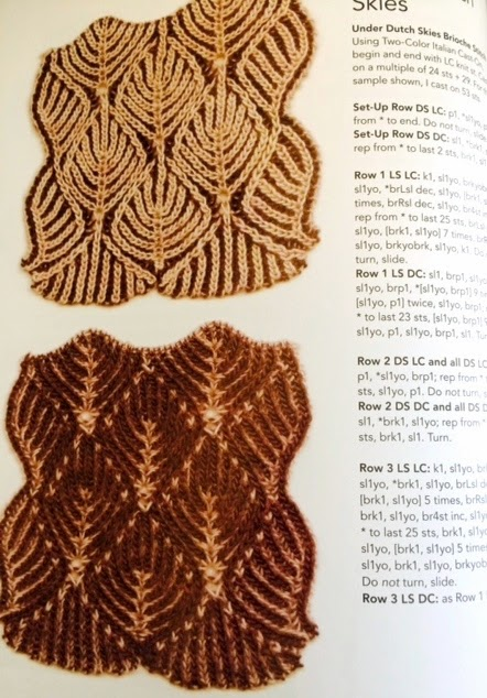 Brioche Knitting Pattern : At First Glance: Book Review: Knitting Fresh Brioche, Creating Two-Color Twis...