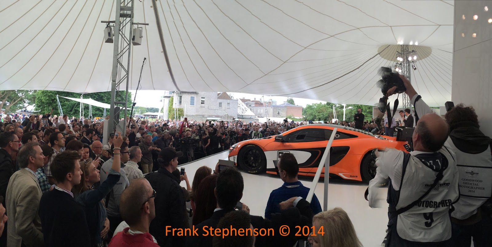 Goodwood Festival of Speed 2014 | McLaren 650s GT3 Photo by Frank Stephenson