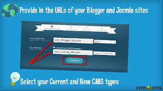 Blogger to Joomla