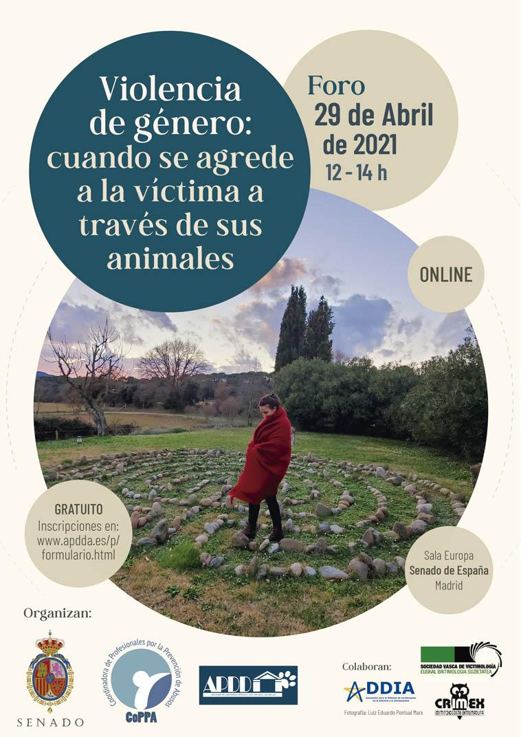 Foro Virtual: «VIOLENCIA DE GÉNERO: Cuando se agrede a la víctima a través de sus animales»