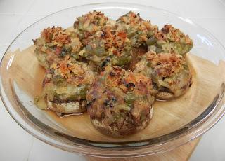 Eggface+Green+Bean+Casserole+Stuffed+Mushrooms Weight Loss Recipes Green Bean Casserole Stuffed Mushrooms