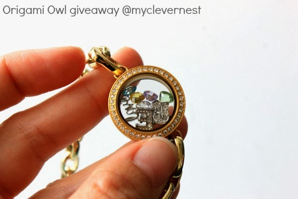 $25 Origami Owl + FREE shipping giveaway! Open to US, ends 3/7/14 #clevernest #jewelry #locket #free