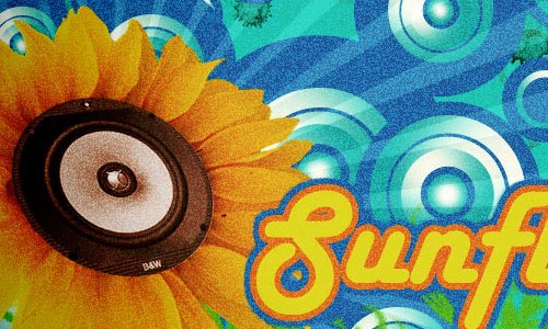Retro SunFlower Design