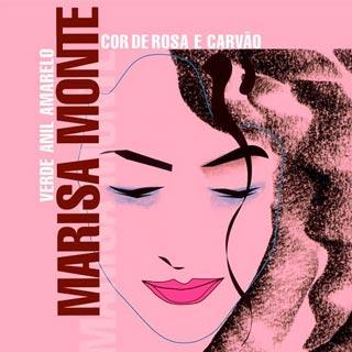 Marisa Monte: Verde, Anil, Amarelo, Cor de Rosa e Carvão - capa do disco