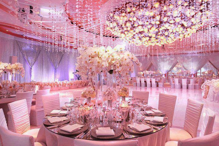 Ladiesfashionsense-Pink Wedding Reception Room