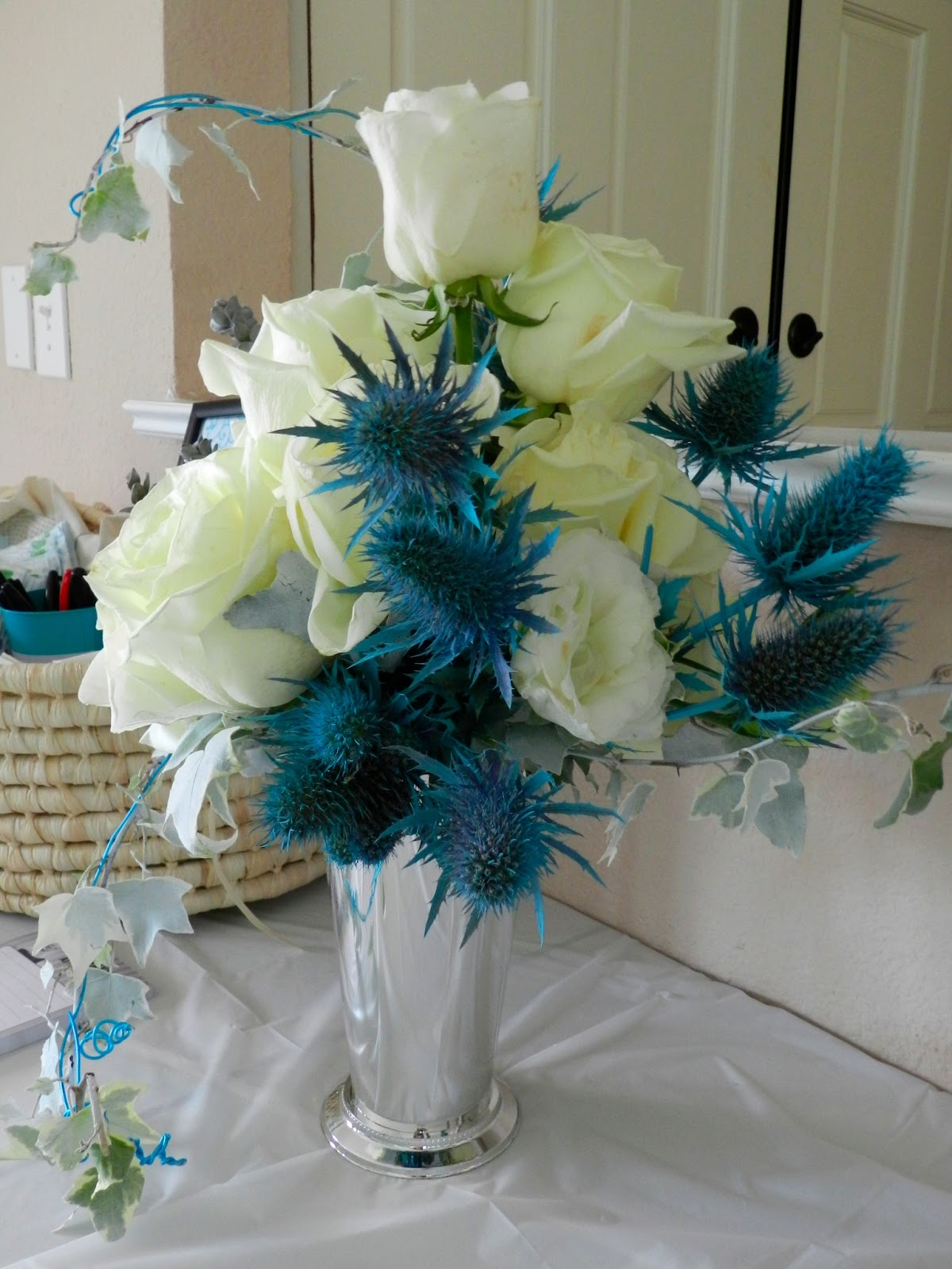 Party Little Blue Baby Shower