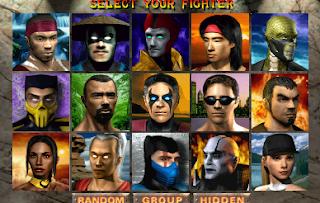 karakter dalam permainan mortal kombat 4