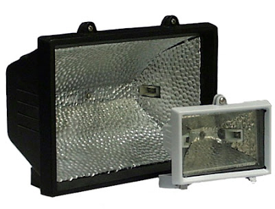 The EHS 150W Enclosed Halogen Flood Light