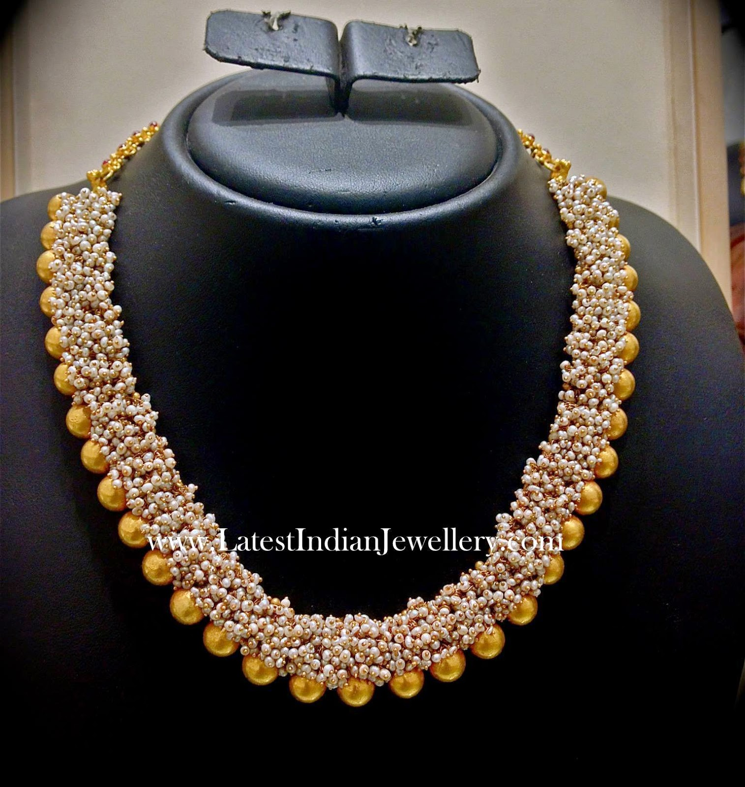 Basra Pearls Fancy Necklace