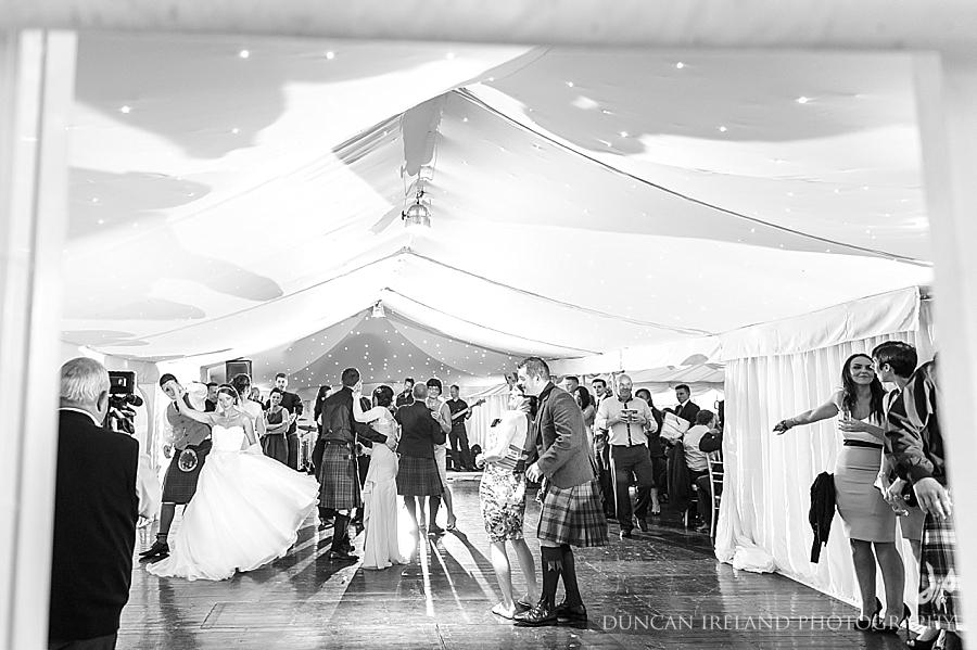 marquee wedding Castle Douglas