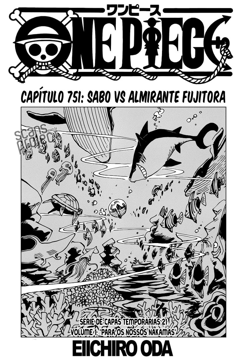 One Piece 751 Mangá online português