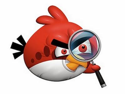 Angry birds, mata-mata? (ilustrasi)