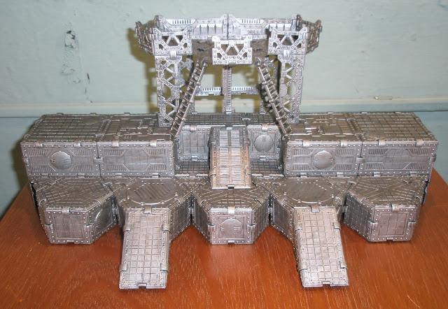 Bandeja de transporte para el Adeptus Mechanicus