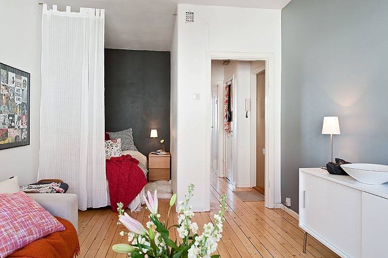 Decoracao De Sala Quarto Pequenos ~ Como decorar quarto e sala conjugados  Mari Beleza Pura