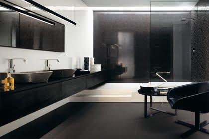 Badkamer Tegels Zwart : Zwarte badkamertegels u materialen voor constructie