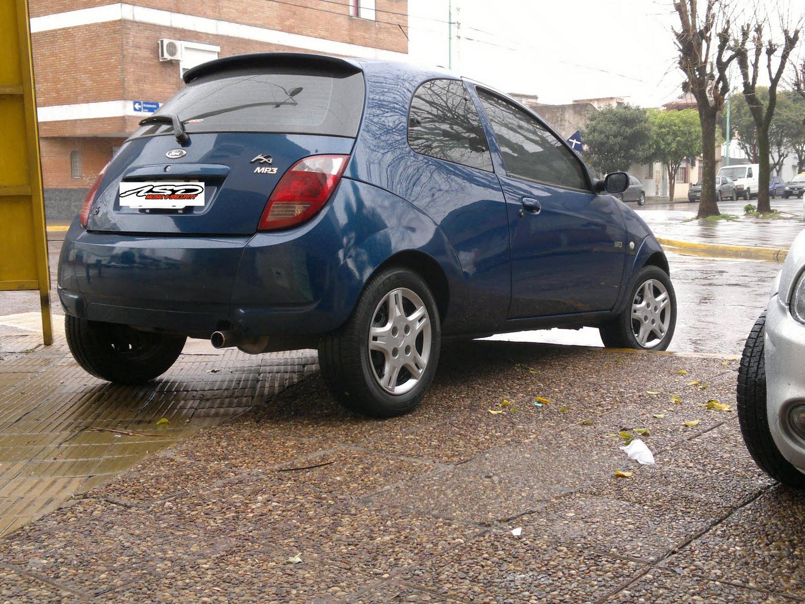 Xenon Y Audio Para El Ford Ka