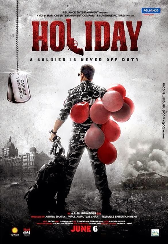 'Holiday: A Soldier Is Never Off Duty' Teaser poster starring Akshay Kumar